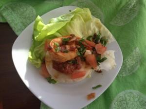 Shrimp-Chorizo Tapas
